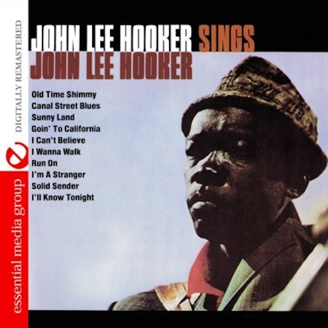 SINGS JOHN LEE HOOKER CD