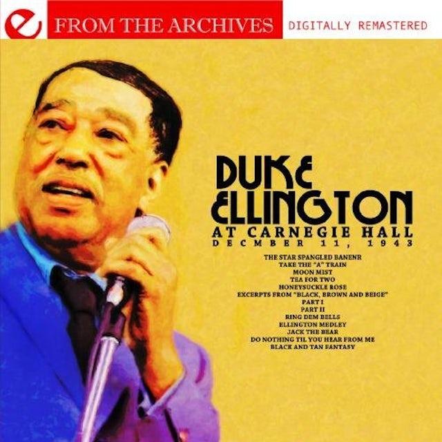 Duke Ellington CARNEGIE HALL DECEMBER 11, 1943 CD