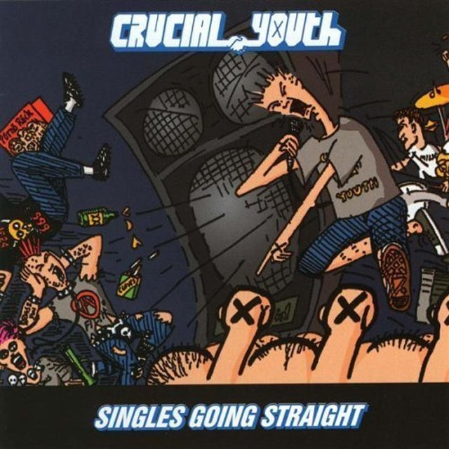 Crucial Youth SINGLES GOING STRAIGHT 1986-1991 CD