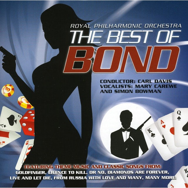 Royal Philharmonic Orchestra BEST OF JAMES BOND CD