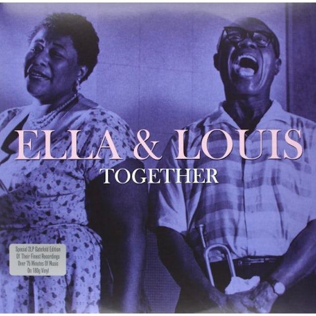 Ella Fitzgerald & Louis Armstrong  TOGETHER Vinyl Record