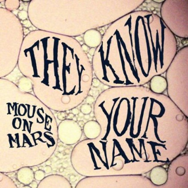 Mouse On Mars THEY KNOW YOUR NAME Vinyl Record