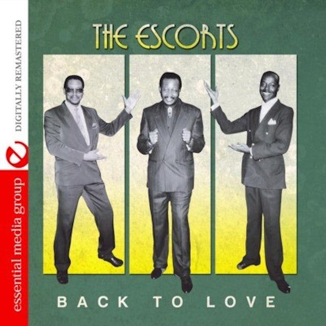 Escorts BACK TO LOVE CD