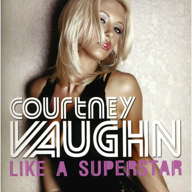 Courtney Vaughn LIKE A SUPERSTAR CD