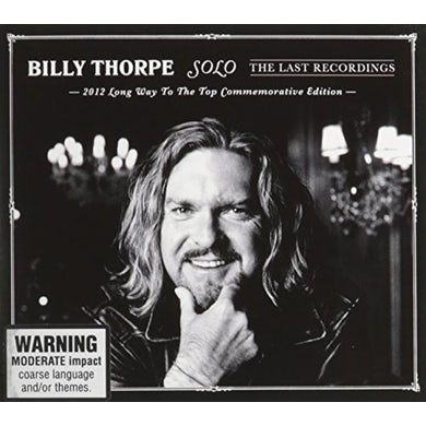 Billy Thorpe SOLO: LAST RECORDINGS CD