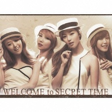 WELCOME TO SECRET TIME (VERSION B) CD