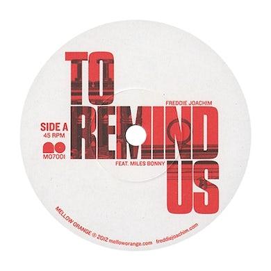 Freddie Joachim TO REMIND US / TALK Vinyl Record