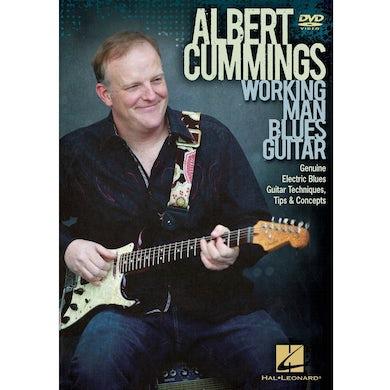 Albert Cummings WORKING MAN BLUES GUITAR DVD