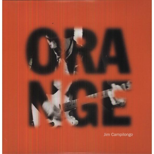 Jim Campilongo ORANGE Vinyl Record - 180 Gram Pressing