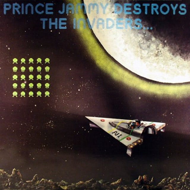Prince Jammy DESTROYS THE INVADERS Vinyl Record