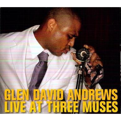 Glen David Andrews LIVE AT THREE MUSES CD