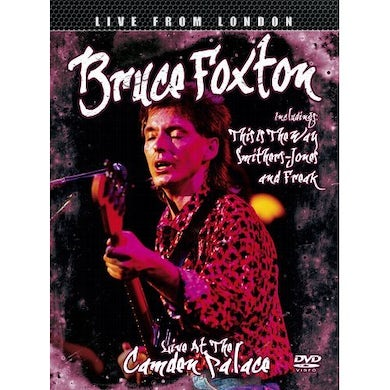Bruce Foxton LIVE AT THE CAMDEN PALACE DVD