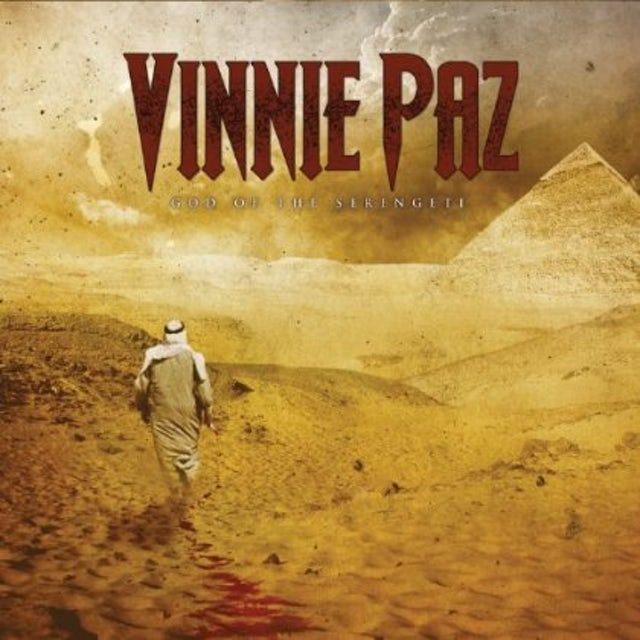 Vinnie Paz GOD OF THE SERENGETI Vinyl Record