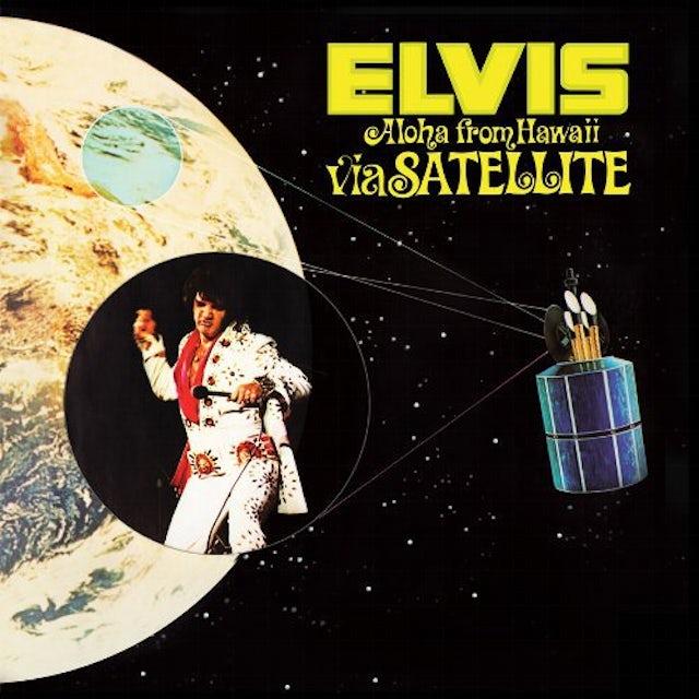 Elvis Presley ALOHA FROM HAWAII VIA SATELLITE Vinyl Record