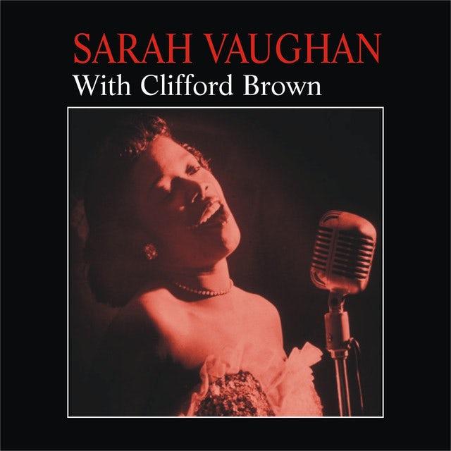 Sarah Vaughan WITH CLIFFORD BROWN (BONUS TRACK) Vinyl Record - 180 Gram Pressing, Remastered