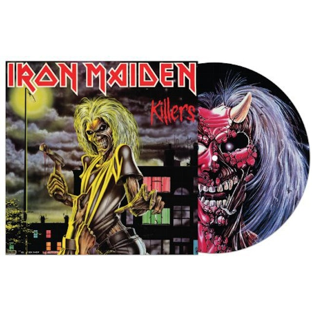 Iron Maiden KILLERS Vinyl Record - Limited Edition, Picture Disc