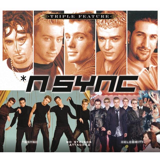 *NSYNC TRIPLE FEATURE CD