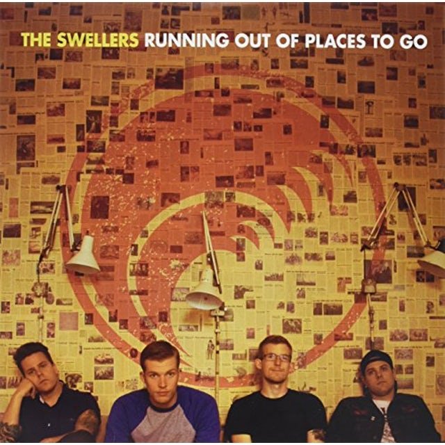Swellers RUNNING OUT OF PLACES TO GO Vinyl Record