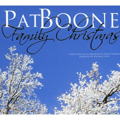 Pat Boone FAMILY CHRISTMAS CD