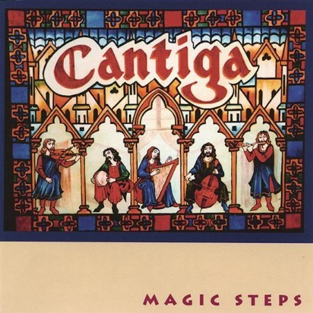Cantiga MAGIC STEPS CD
