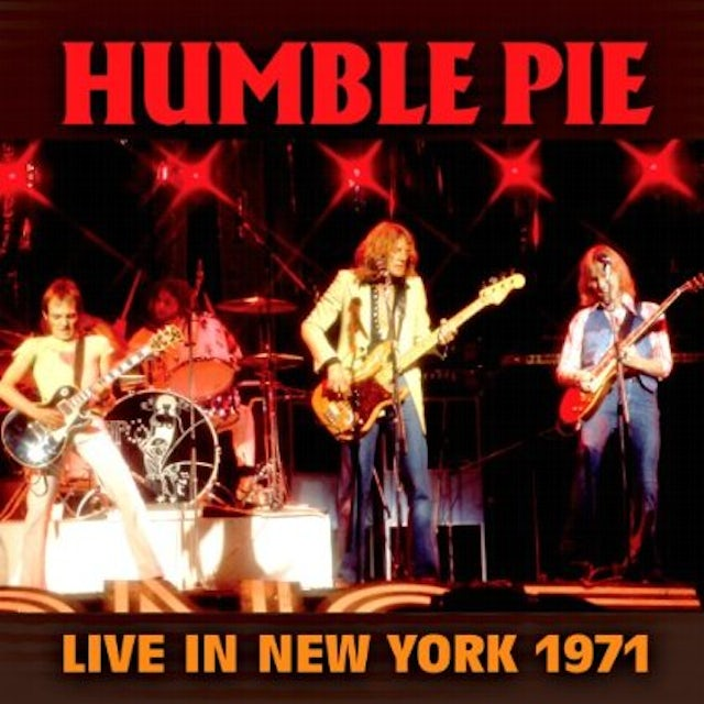 Humble Pie LIVE IN NEW YORK 1971 CD