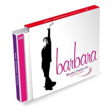 BARBARA RECITAL PANTIN 81 CD