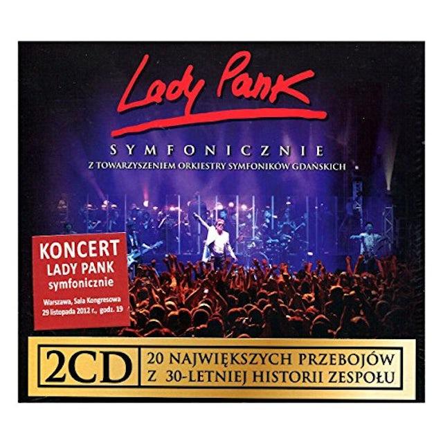 LADY PANK SYMFONICZNIE CD