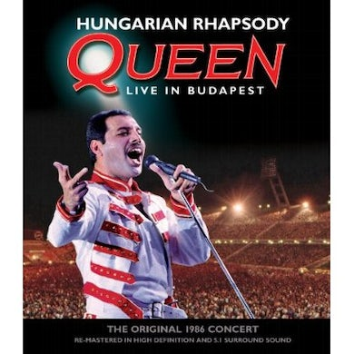 HUNGARIAN RHAPSODY: QUEEN LIVE IN BUDAPEST Blu-ray