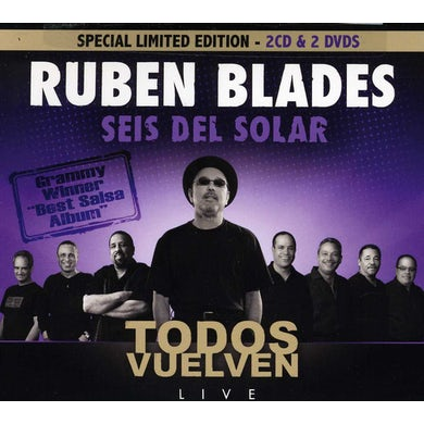 Ruben Blades TODOS VUELVEN: LIMITED EDITION CD
