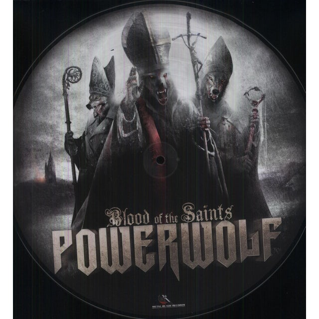 Powerwolf BLOOD OF THE SAINTS Vinyl Record