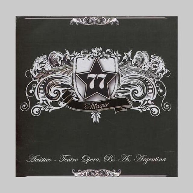 Attaque 77 ACUSTICO TEATRO OPERA CD