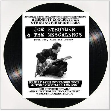 Joe Strummer LIVE AT ACTON Vinyl Record