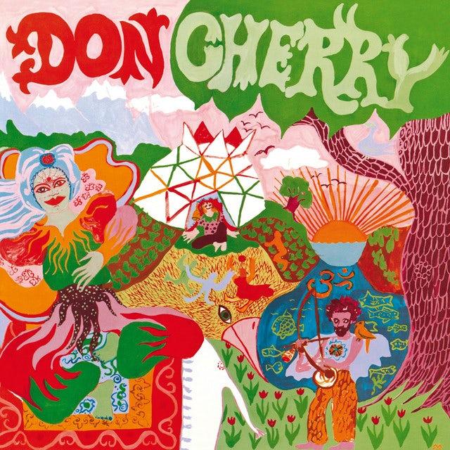 Don Cherry ORGANIC MUSIC SOCIETY Vinyl Record