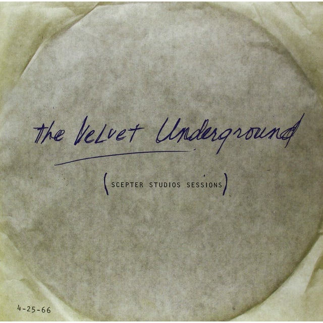 The Velvet Underground SCEPTER STUDIOS ACETATE Vinyl Record