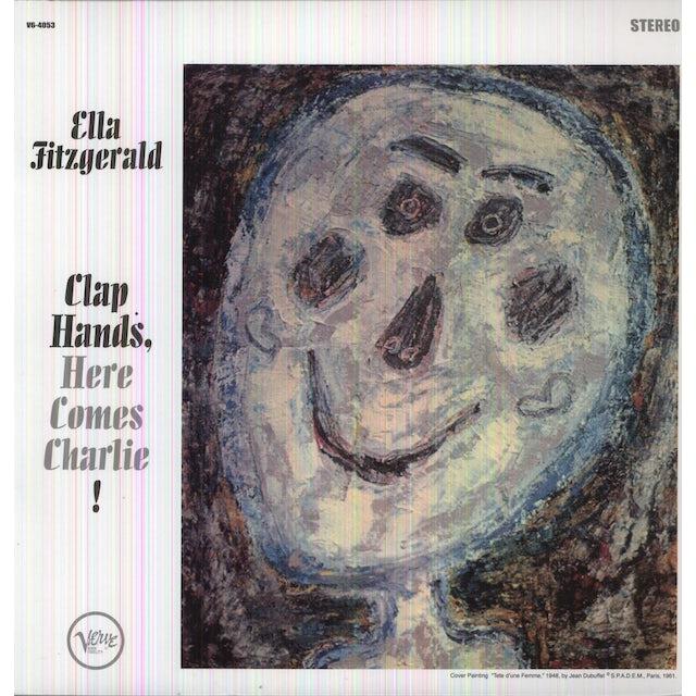 Ella Fitzgerald CLAP HANDS HERE COMES CHARLIE Vinyl Record