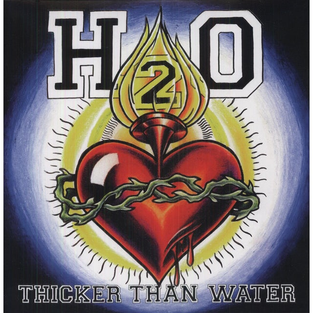 H2O THICKER THAN WATER Vinyl Record