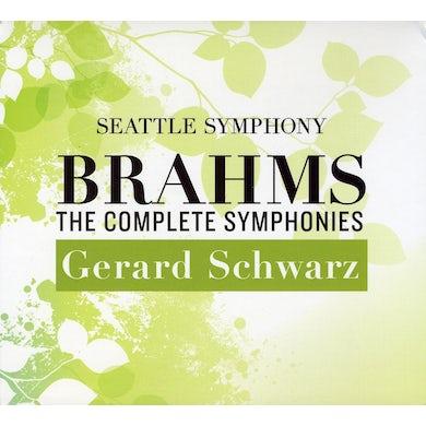 Seattle Symphony COMPLETE BRAHMS SYMPHONIES CD