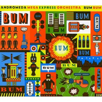 Andromeda Mega Express Orchestra BUM BUM CD