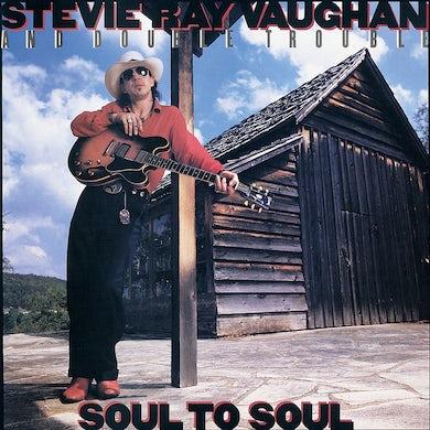 Stevie Ray Vaughan SOUL TO SOUL Vinyl Record