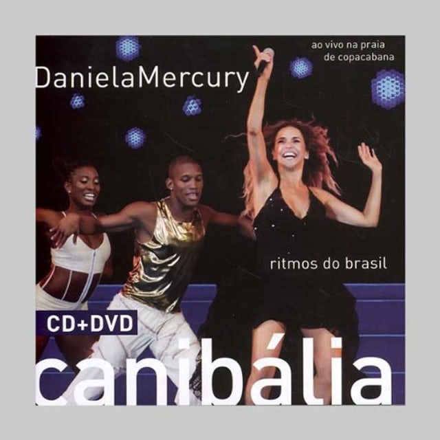 Daniela Mercury CANIBALIA RITMOS DO BRASIL: AO VIVO CD