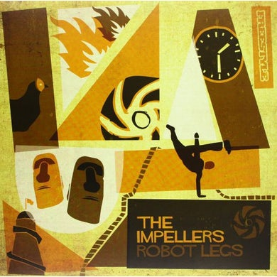 The Impellers ROBOT LEGS Vinyl Record