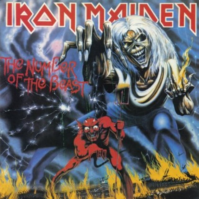 Iron Maiden NUMBER OF THE BEAST (PICTURE DISC) Vinyl Record - Picture Disc