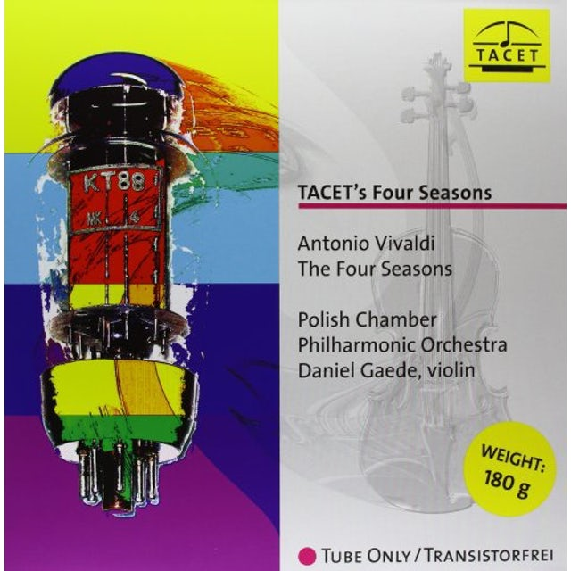Vivaldi / Gaede / Polish Chamber Philharmonic Orch TACETS FOUR SEASONS Vinyl Record
