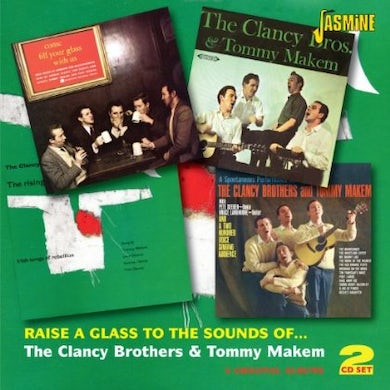 Clancy Brothers RAISE A GLASS CD