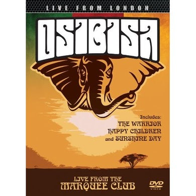 Osibisa LIVE FROM LONDON DVD