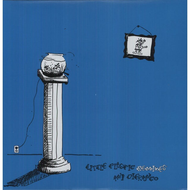 Ani Difranco LITTLE PLASTIC REMIXES Vinyl Record