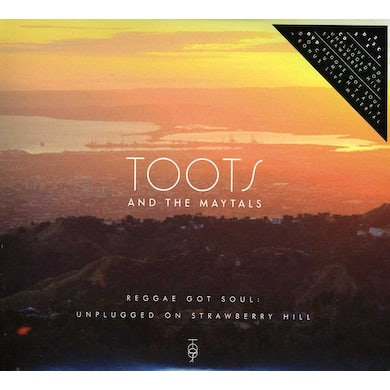 Toots & Maytals UNPLUGGED ON STRAWBERRY HILL CD