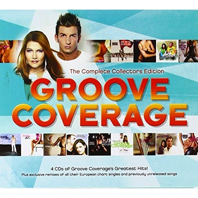 Groove Coverage COMPLETE COLLECTORS EDITION CD