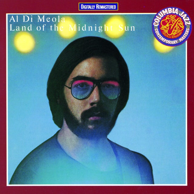 Al Di Meola LAND OF THE MIDNIGHT SUN Vinyl Record