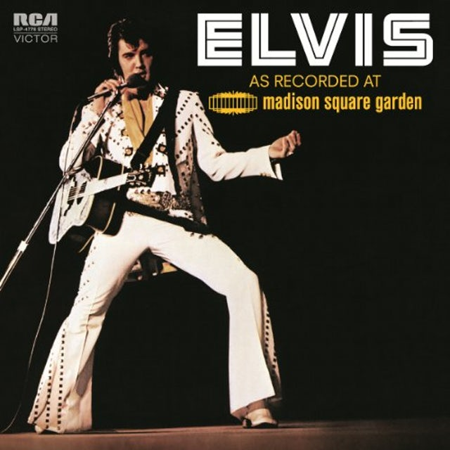 Elvis Presley AS RECORDED AT MADISON SQUARE GARDEN Vinyl Record